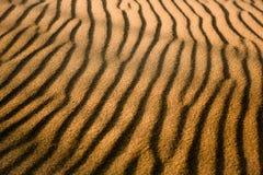 金黄沙子 图库摄影