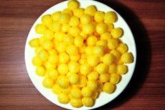 金黄玉米棍子 免版税库存照片