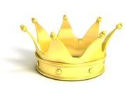 金黄的冠 免版税库存图片