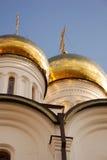 金黄的圆屋顶 免版税库存照片
