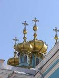金黄的圆屋顶 免版税库存图片