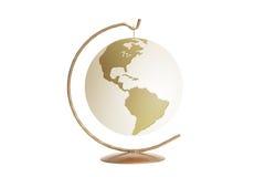 金黄的地球 免版税库存图片
