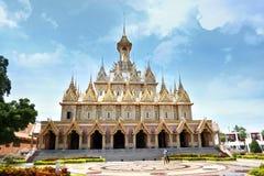 金黄的城堡 免版税库存图片