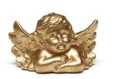 金黄的天使 库存图片