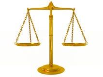 金黄的平衡 免版税图库摄影
