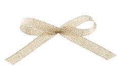 金黄的弓 免版税库存照片