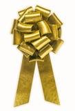 金黄的弓 免版税库存图片