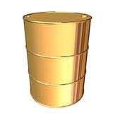 金黄的桶 免版税图库摄影
