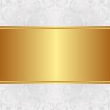 金黄的背景 库存照片