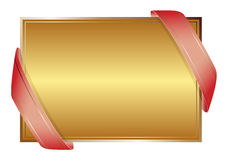 金黄的背景 免版税库存图片