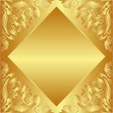 金黄的背景 免版税图库摄影