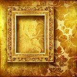 金黄的艺术 免版税库存图片