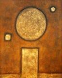 金黄的艺术 库存图片