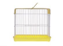 金黄的鸟笼 库存图片