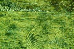 金黄石灰上色了纹理或背景的树桩木结构 免版税图库摄影