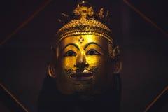 金黄菩萨的表面 图库摄影