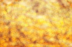 金黄闪烁的背景 免版税库存照片