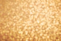 金黄闪烁纹理 圣诞节昂贵的抽象背景 Blured bokeh 库存照片