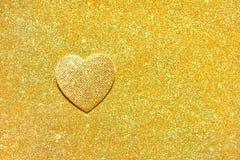 金黄闪烁纹理Colorfull被弄脏的抽象背景 免版税库存图片