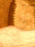金黄闪闪发光纹理 库存图片
