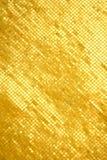 金黄马赛克墙壁 免版税库存图片