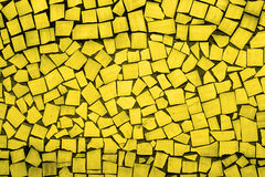 金黄不对称的瓦片纹理  图库摄影