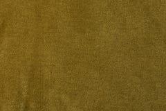 金黄丝绒织品背景,天鹅绒,毛海织物,开士米作用 免版税库存图片