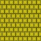 金黄几何方形的背景 向量 图库摄影