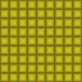 金黄几何方形的背景 向量 免版税库存图片
