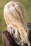 金黄头发 图库摄影