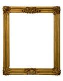 金黄古色古香的框架 库存图片