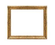 金黄古色古香的框架 免版税库存图片