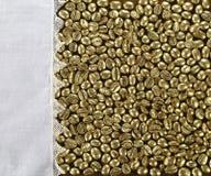 金黄咖啡 库存图片