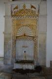 金黄喷泉在可汗的宫殿在Bakhchisaray 库存图片