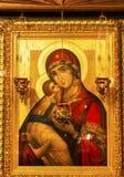 金黄圣徒巴巴拉象大教堂圣迈克尔大教堂基辅乌克兰 免版税库存图片