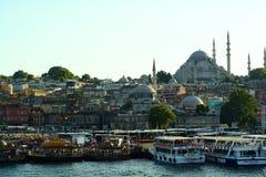 金黄垫铁伊斯坦布尔 免版税库存照片