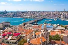 金黄垫铁在伊斯坦布尔 免版税图库摄影