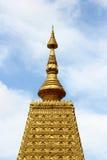 金黄塔在泰国 库存图片