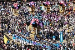 金黄大寺庙festiva 图库摄影