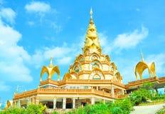 金黄寺庙。 免版税库存图片