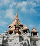 金黄寺庙曼谷 库存照片
