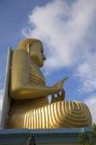 金黄寺庙的菩萨 Dambulla,斯里兰卡 免版税库存图片