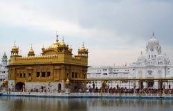 金黄寺庙阿姆利则,印度 免版税库存照片
