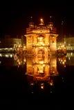 金黄寺庙,阿姆利则,旁遮普邦 库存图片