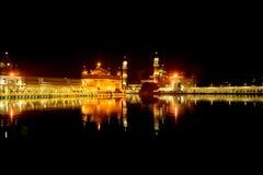 金黄寺庙,阿姆利则,旁遮普邦 免版税库存图片