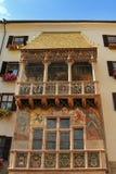 金黄屋顶(Goldenes Dachl) 免版税库存照片