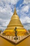 金黄山寺庙的Stupa 库存照片