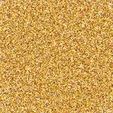 金黄抽象的背景 金子闪烁背景 图库摄影