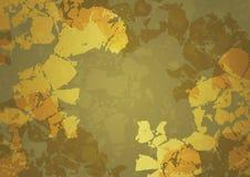 金黄抽象的背景 免版税库存图片