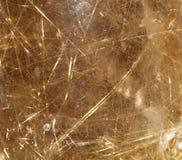 金水晶纹理 库存照片